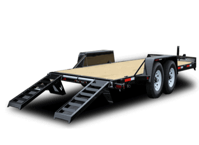 Equipment and Hauling Trailer