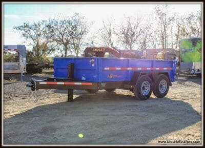 Bwise Heavy Duty Dump Trailer