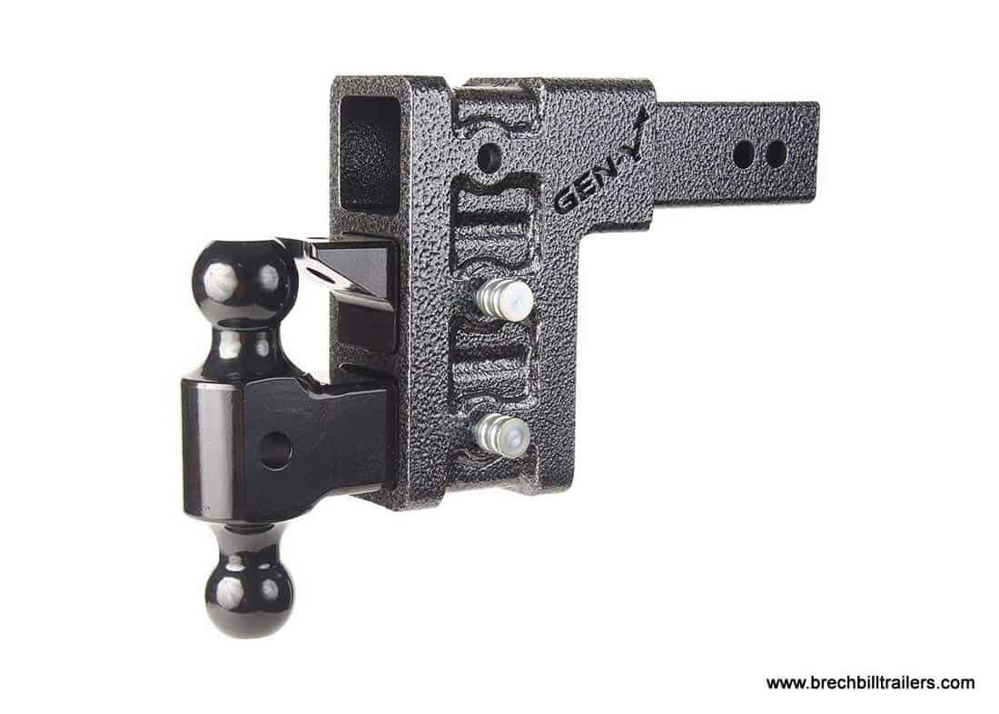 Adjustable Tow Hitch >> Gen Y Adjustable Drop Hitch 2 5 Receiver 21k Towing Hitch Gh 623