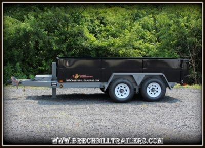 Bwise Low Profile Dump Trailer