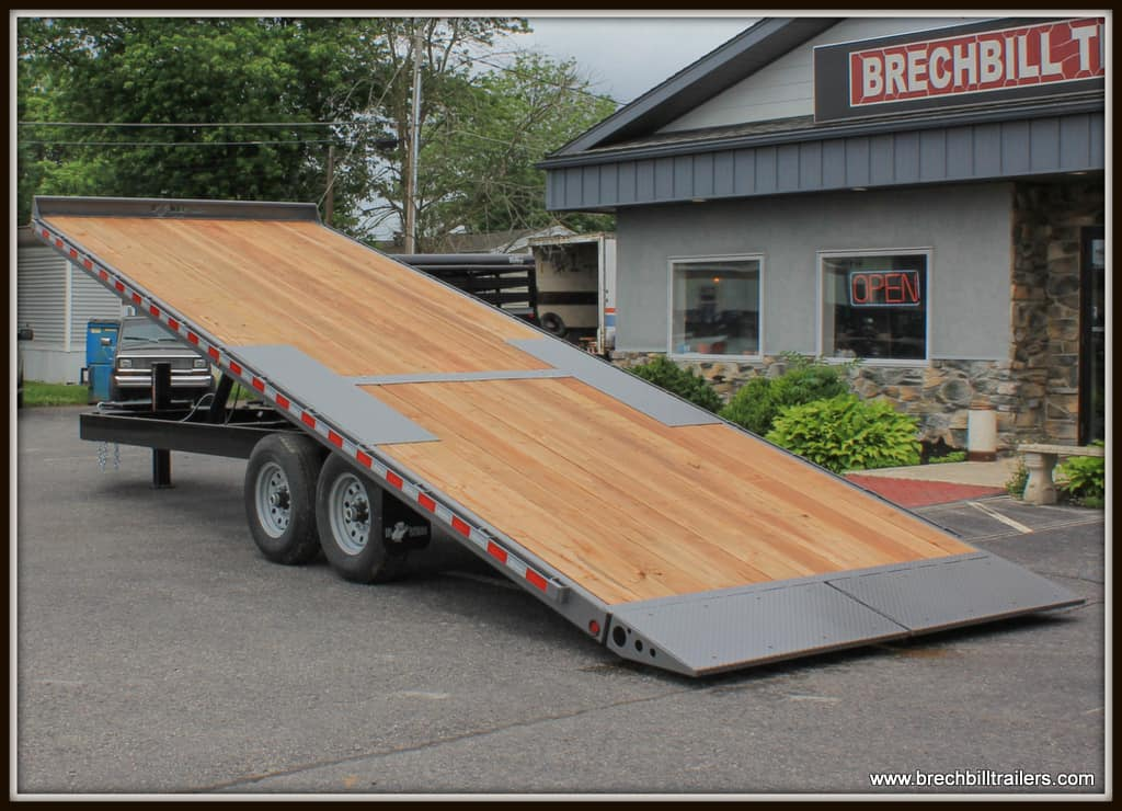 BWISE HYDRAULIC TILT DECK OVER TRAILER