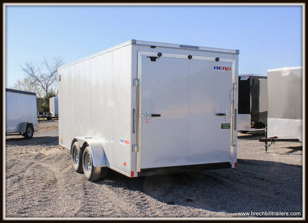 Bravo Enclosed Cargo Trailer