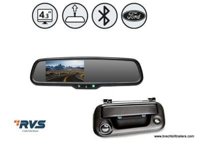 Camera, Mirror Monitor with Sensors