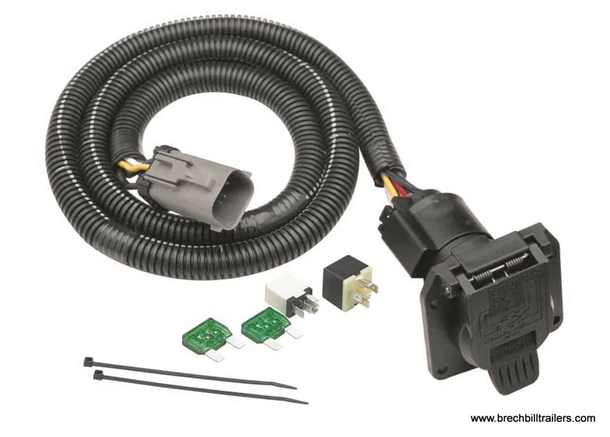 tekonsha replacement trailer wiring harness for 99 01 ford. Black Bedroom Furniture Sets. Home Design Ideas