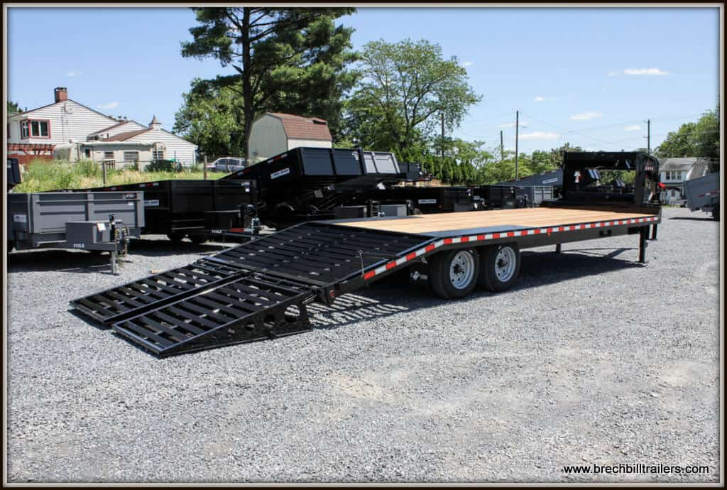 Bwise Deck Over Equipment Trailer