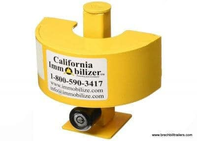 California Immobilizers Trailer Coupler lock