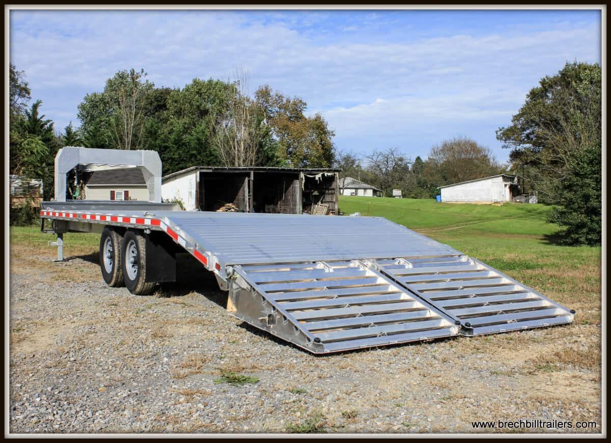 EBY Deck-Over Equipment Trailer
